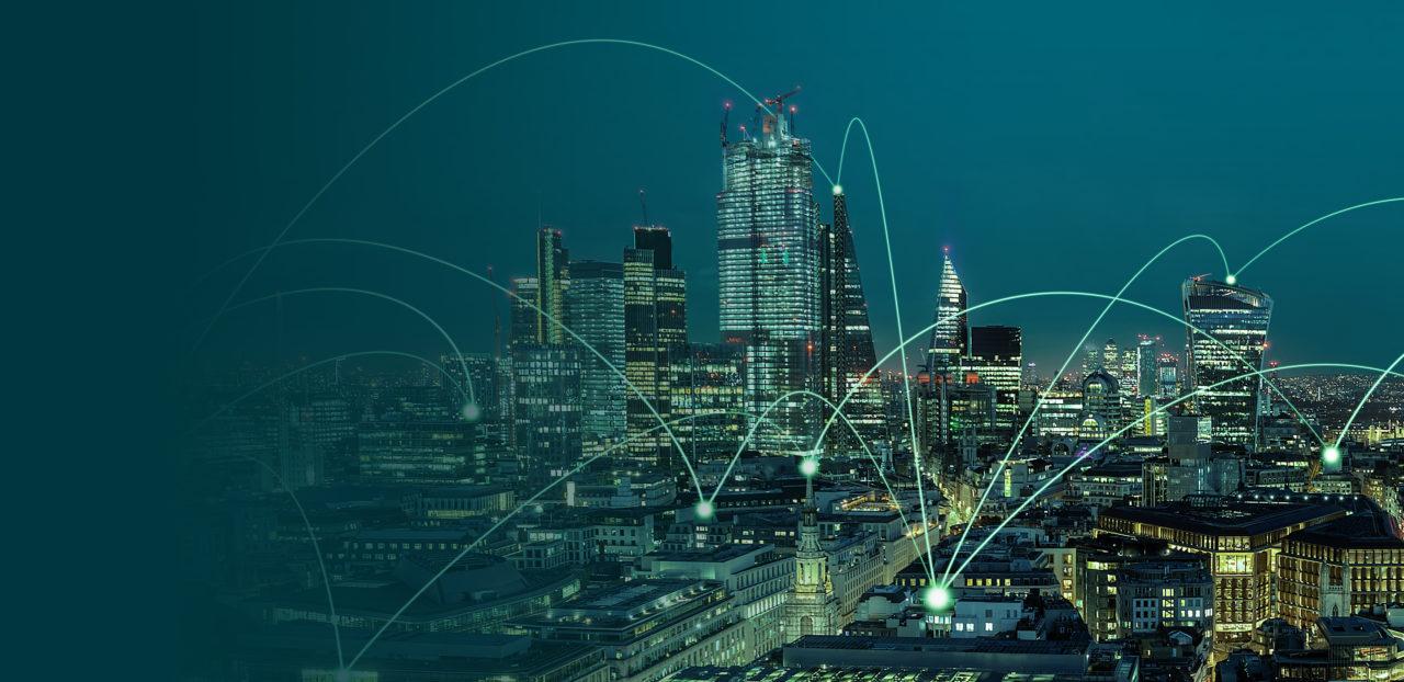 london atmospheric city skyline
